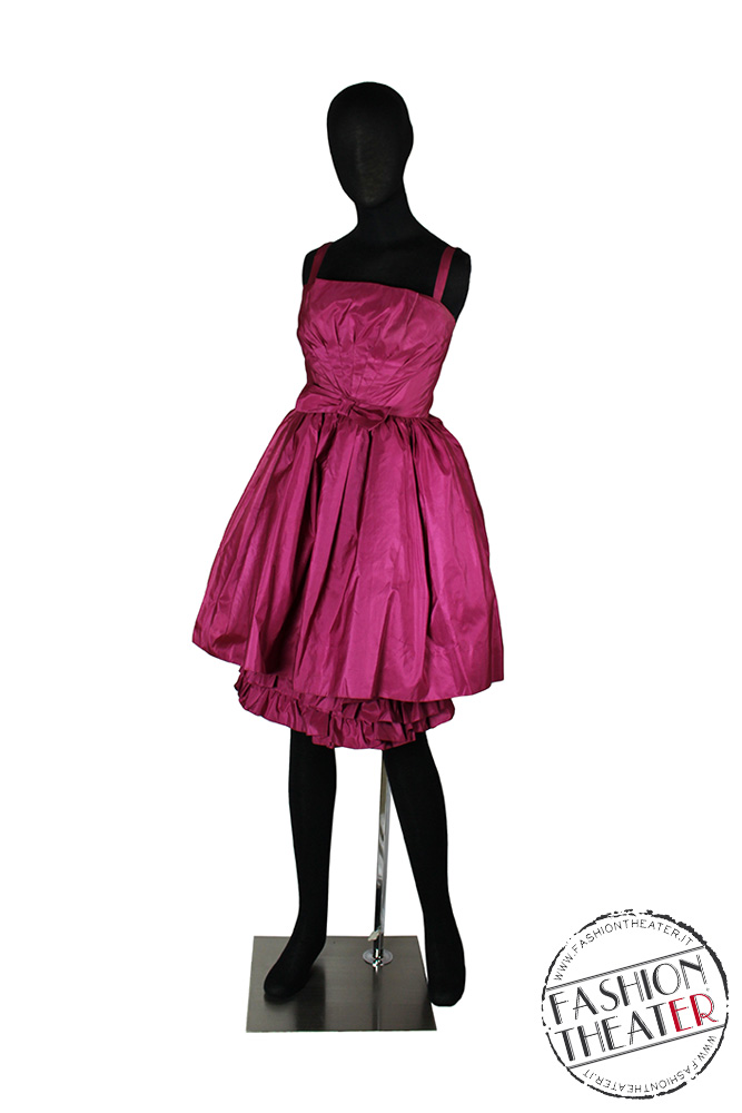 Prom dress anni '50 fuxia